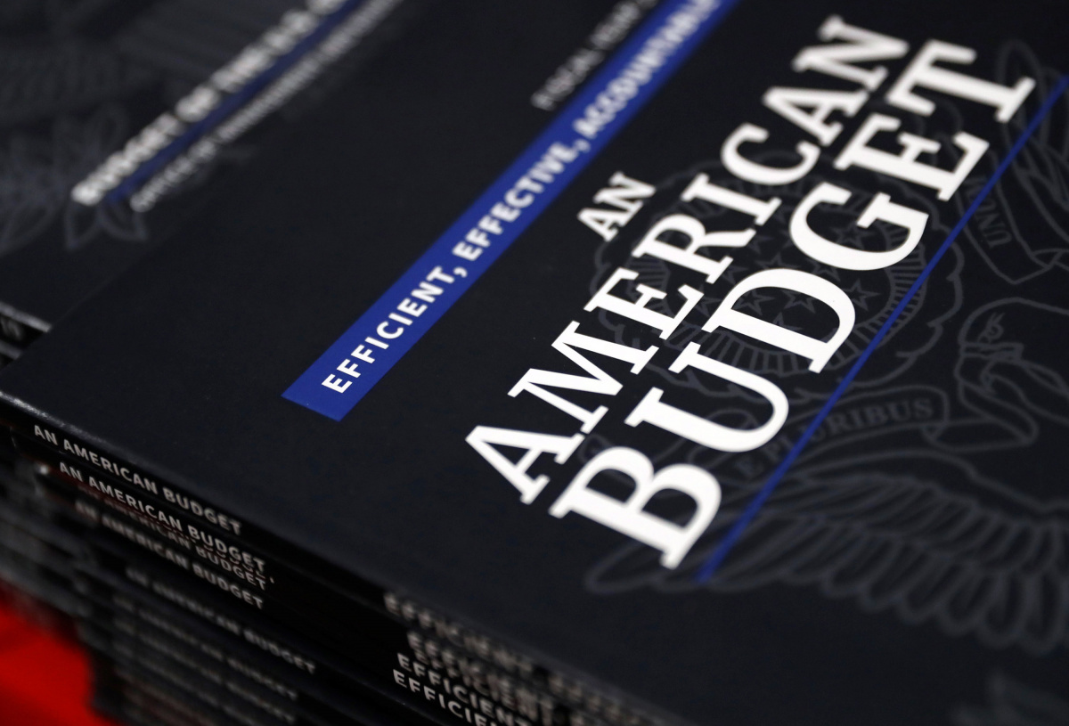 President Trump's Budget for the U.S. Government for the Fiscal Year 2019 is released in Washington