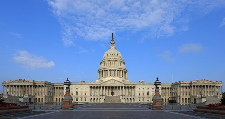 East front of the U.S. Capitol. Wikimedia Commons/Martin Falbisoner