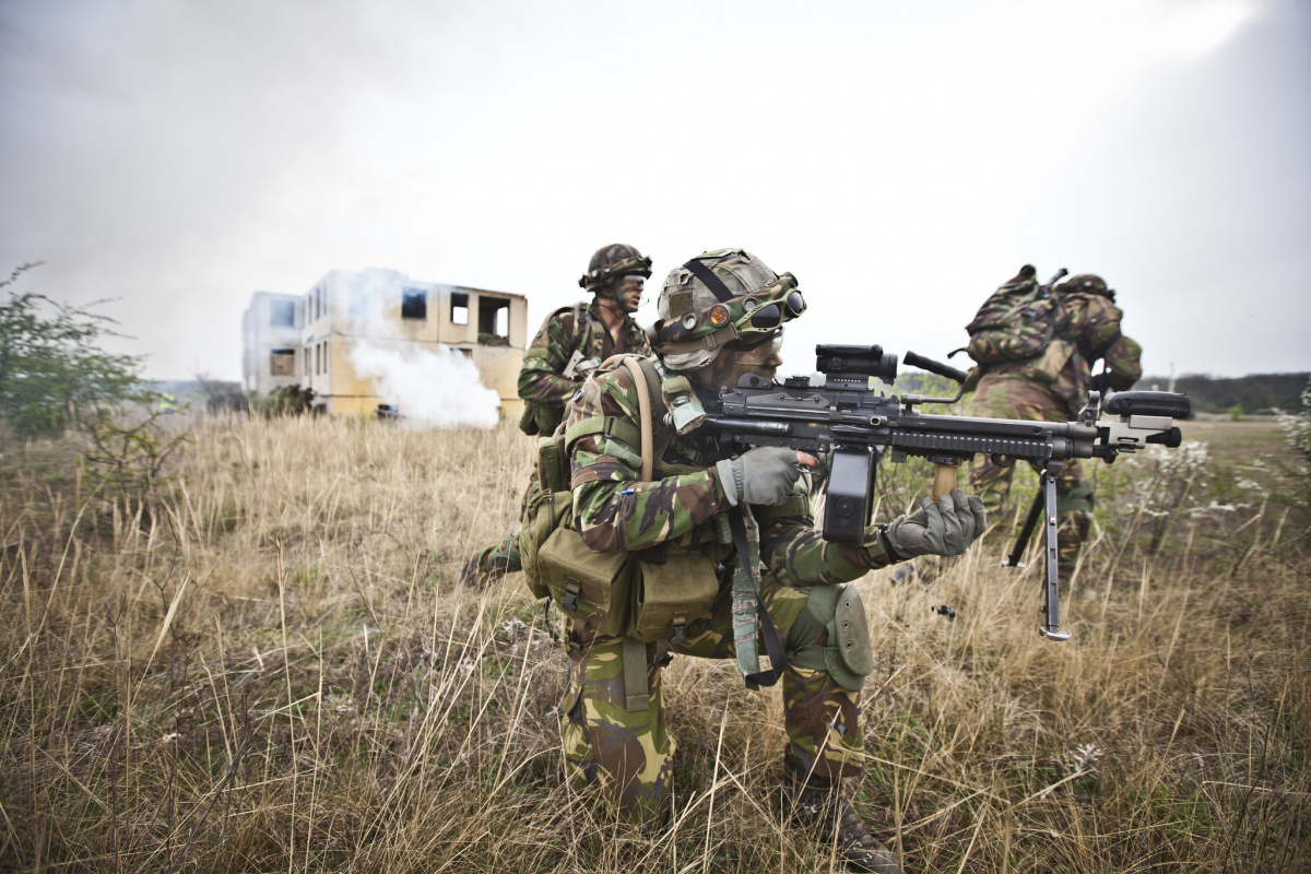NATO forces participating in multinational training exercise Saker Falcon. Flickr/U.S. Army Europe
