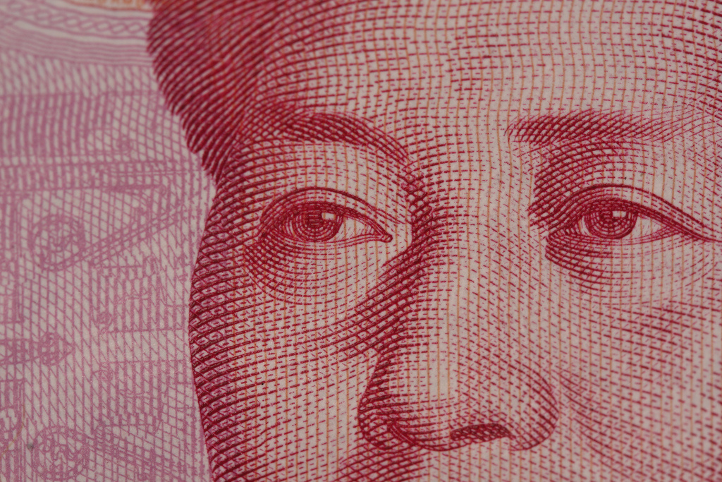 100-yuan note. Flickr/Creative Commons/David Dennis