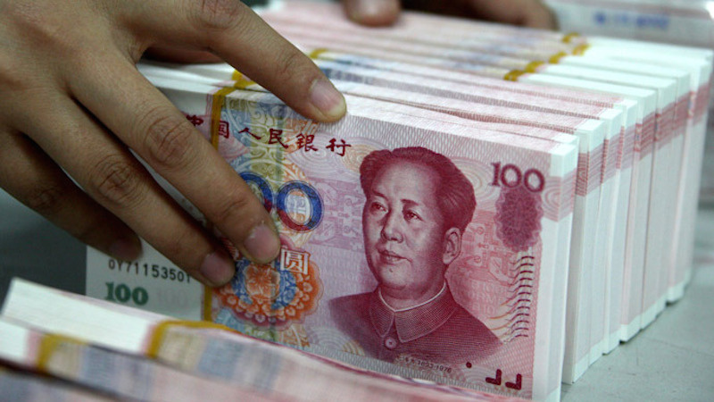 Chinese yuan. Wikimedia Commons/Creative Commons/@Junjiewu99