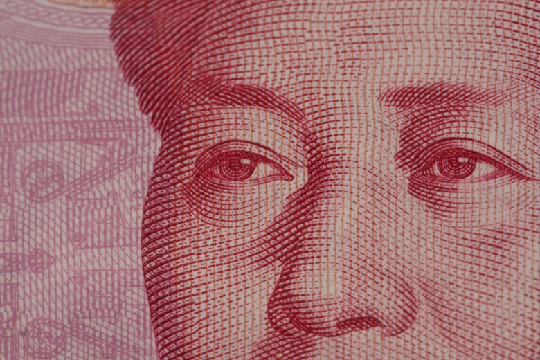 A close-up Chinese 100-yuan note. Flickr/David Dennis