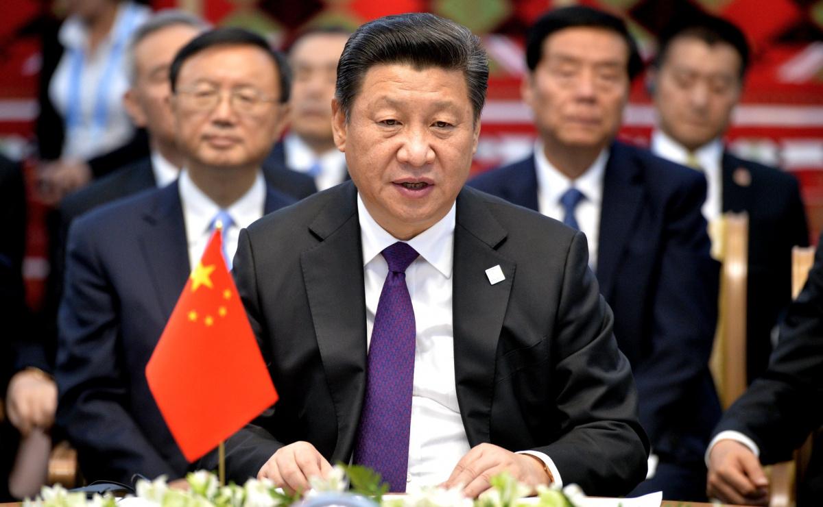 Chinese president Xi Jinping in a meeting with Vladimir Putin. Kremlin.ru