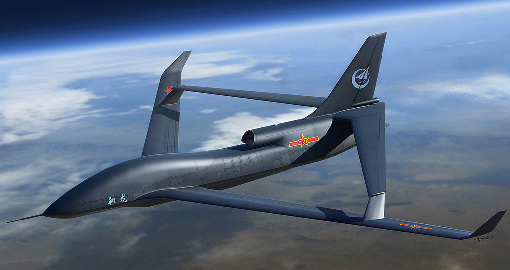 Rendering of Chinese unmanned aerial vehicle. Flickr/Creative Commons