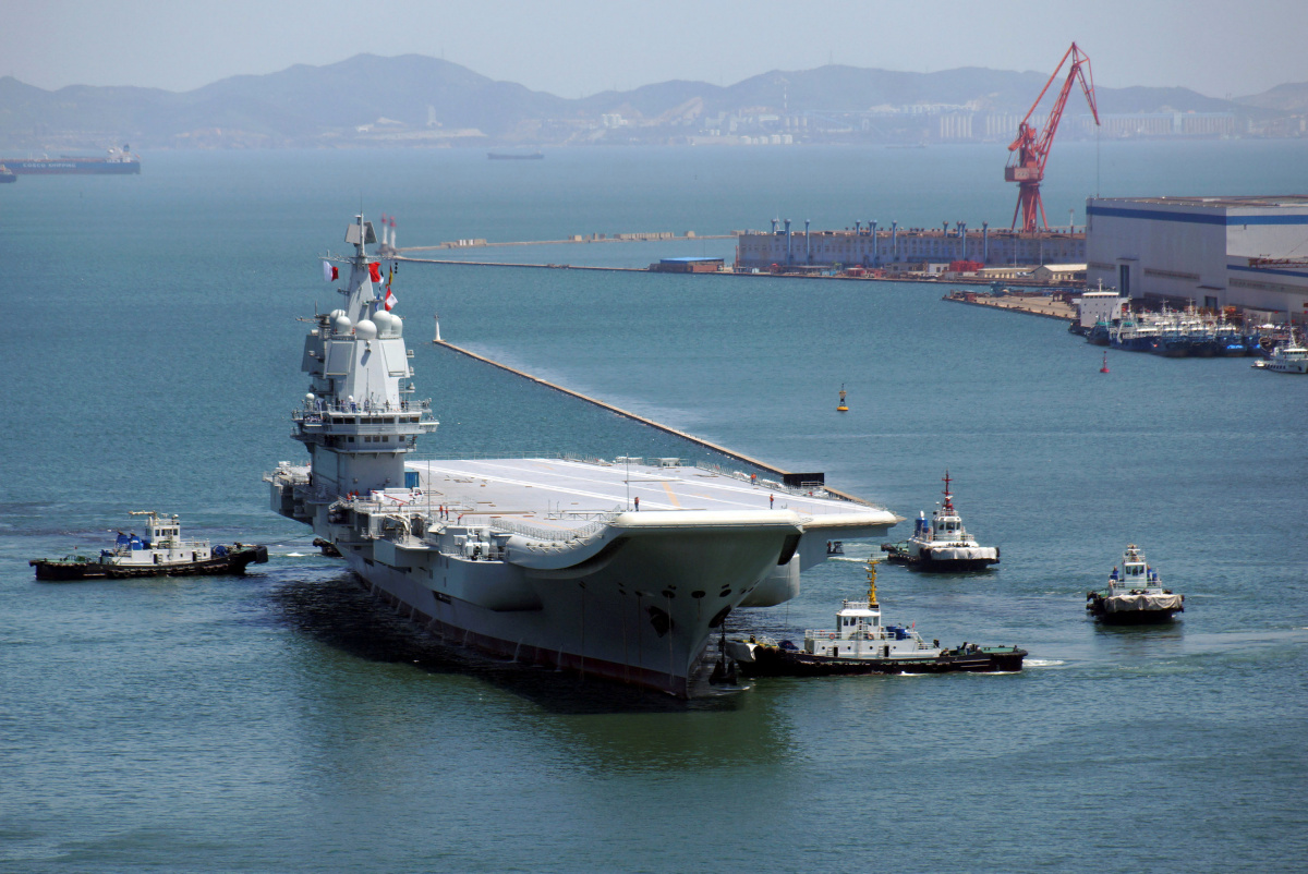 China S New Aircraft Carrier Conducts Smooth Maiden Voyage