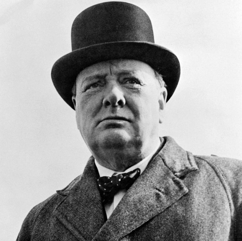 Winston Churchill. Wikimedia Commons/Public domain