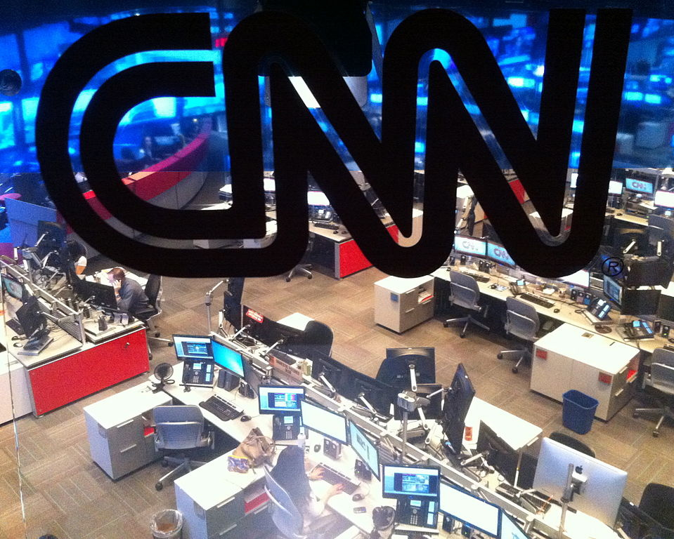 CNN Atlanta newsroom. Wikimedia Commons/Creative Commons/Charles Atkeison