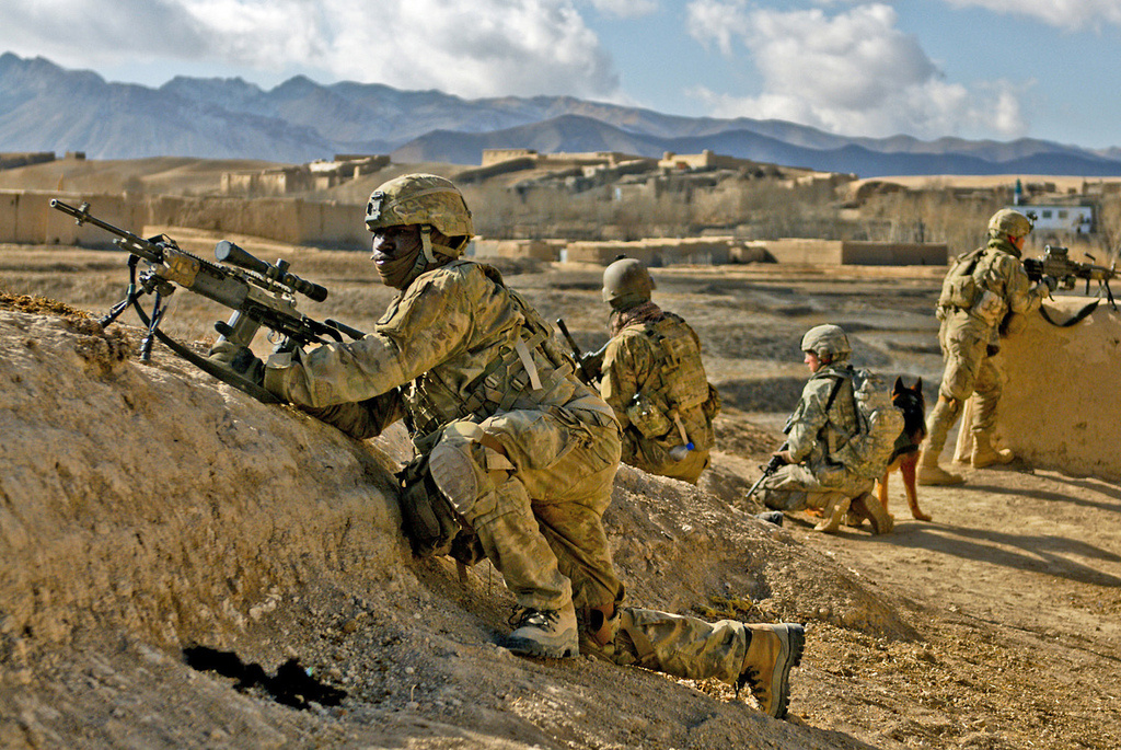 U.S. Army soldiers in Kharwar District, Afghanistan. Flickr/U.S. Central Command