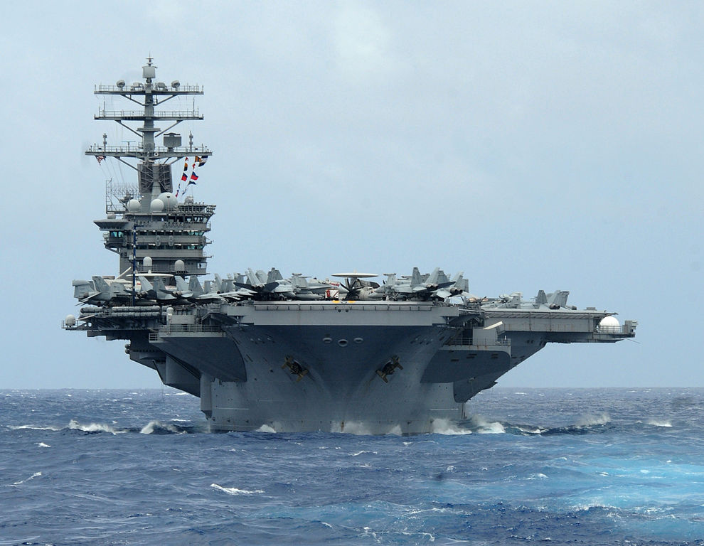 USS Nimitz during RIMPAC 2012. Wikimedia Commons/U.S. Navy