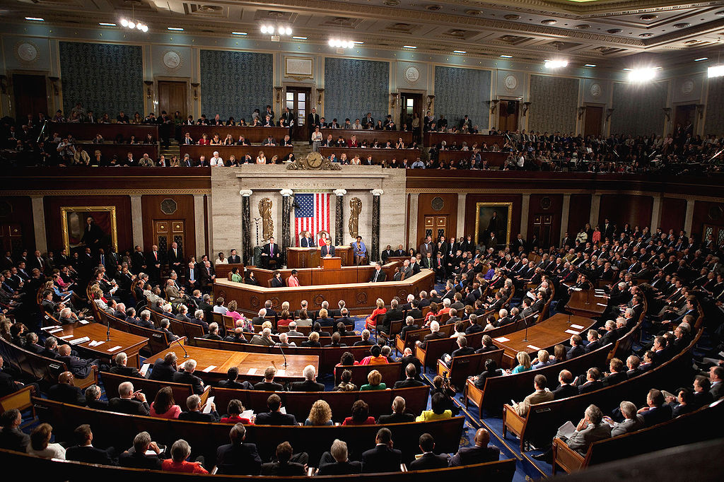 President Barack Obama speaks to a joint session of Congress in 2009. Wikimedia Commons/The White House