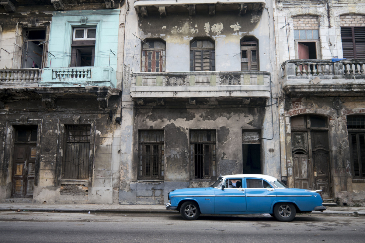 Street scene in Havana. Flickr/Creative Commons/Bryan Ledgard