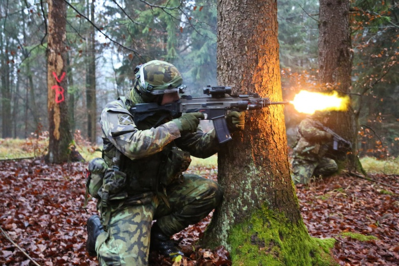 Czech Republic Army soldiers during exercise Combined Resolve. Flickr/7th Army Joint Multinational Training Command