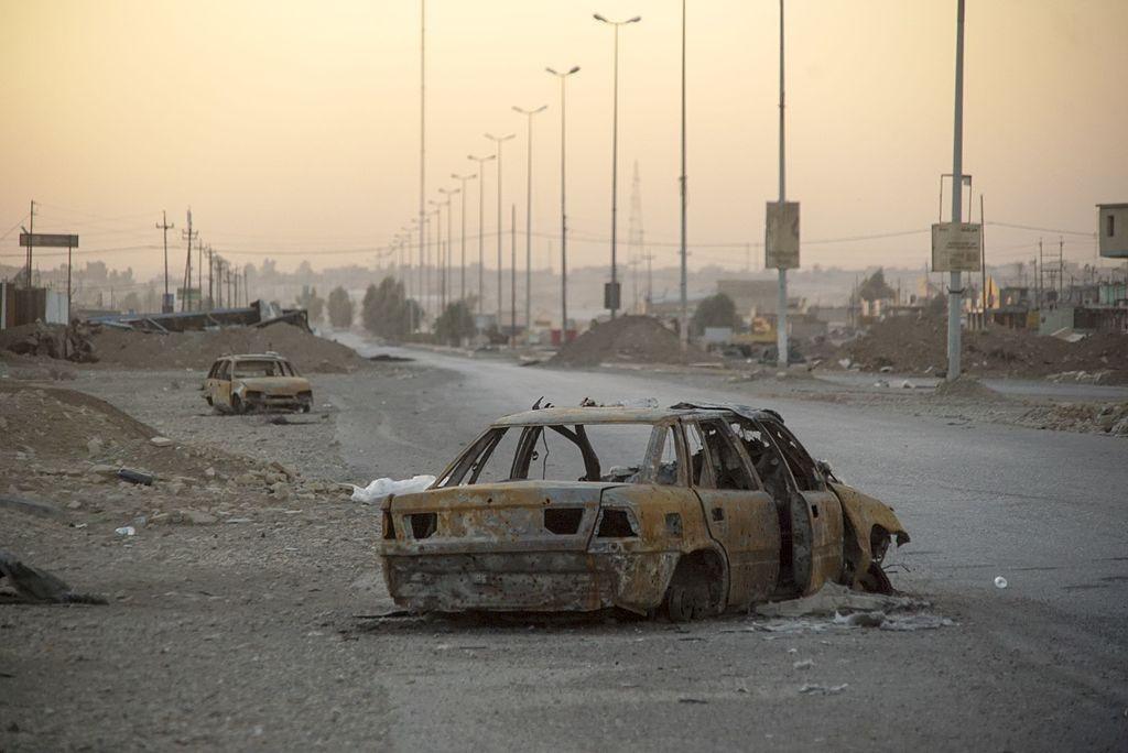 Outskirts of Mosul, November 2016. Wikimedia Commons/Creative Commons/Mstyslav Chernov