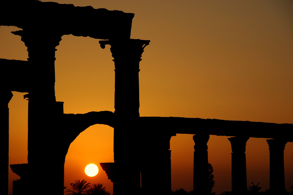 Sunrise in Palmyra, Syria. Flickr/Creative Commons/Hendrik Dacquin