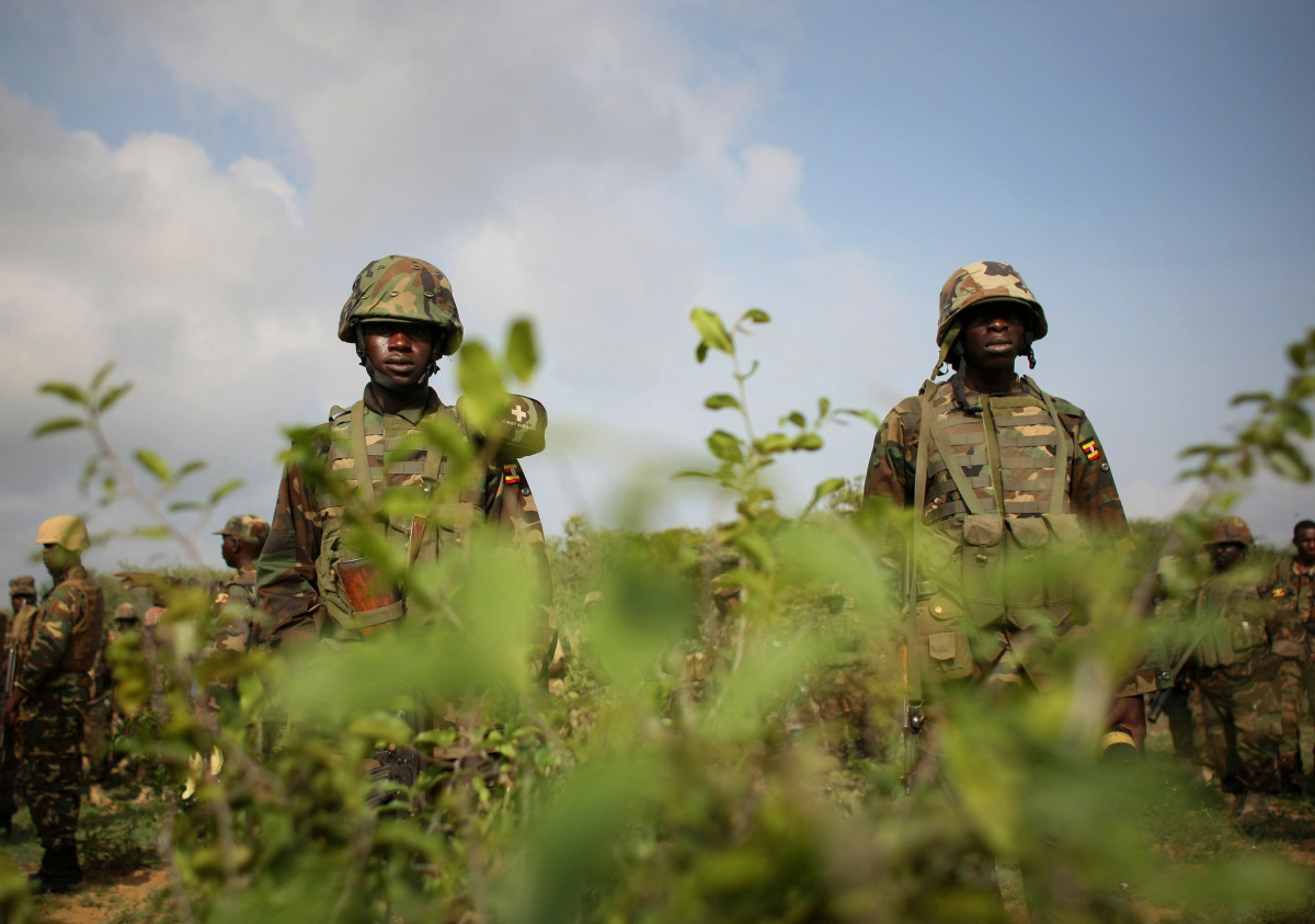 Ugandan troops serving with the African Union Mission in Somalia. Flickr/Creative Commons/AMISOM Public Information