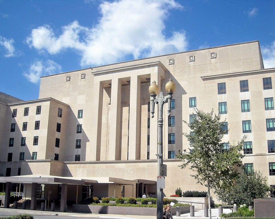 The Harry S. Truman Building of the Department of State. Wikimedia Commons/Creative Commons/@AgnosticPreachersKid