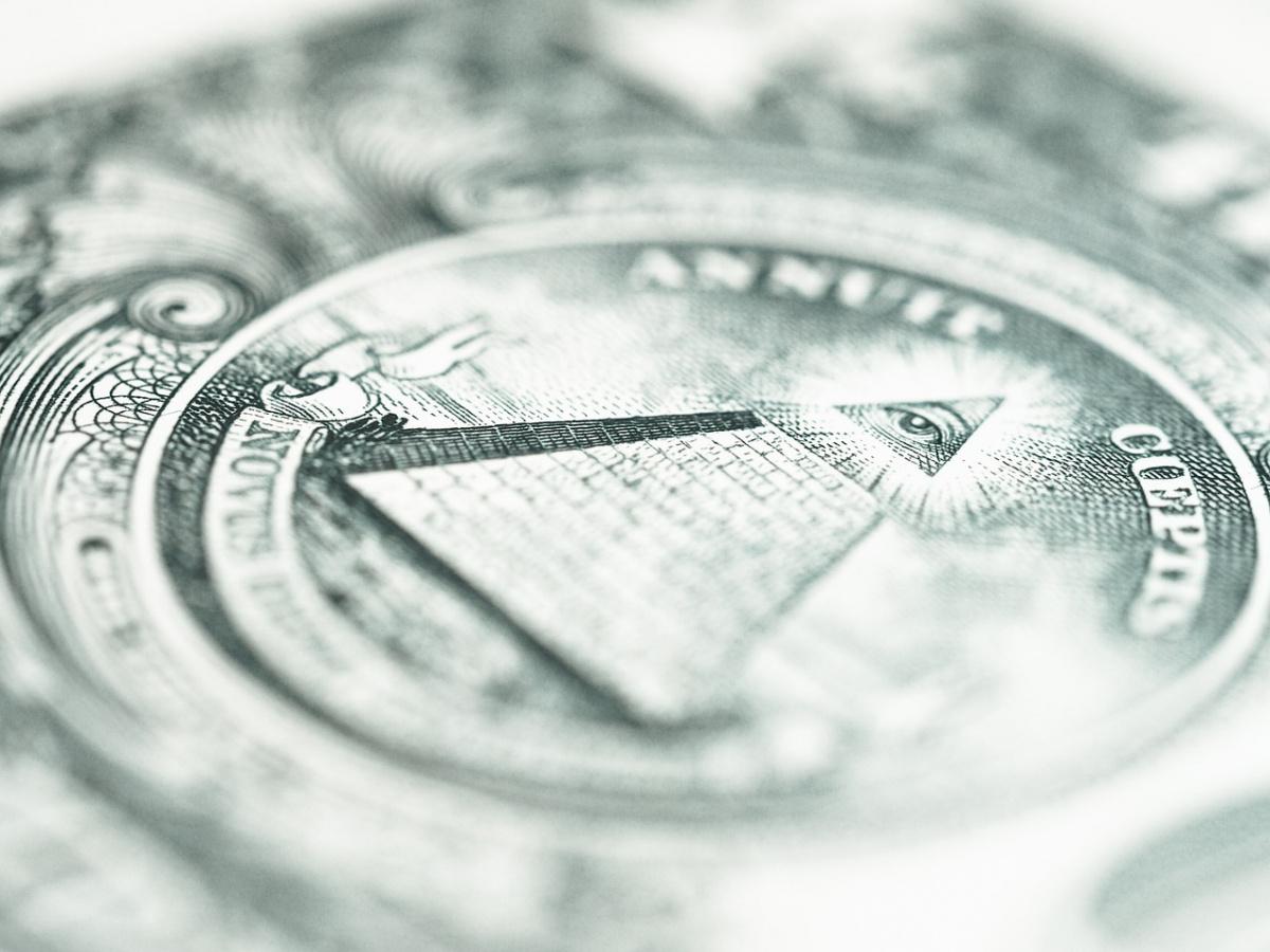 Reverse of one-dollar bill. Pixabay/Public domain
