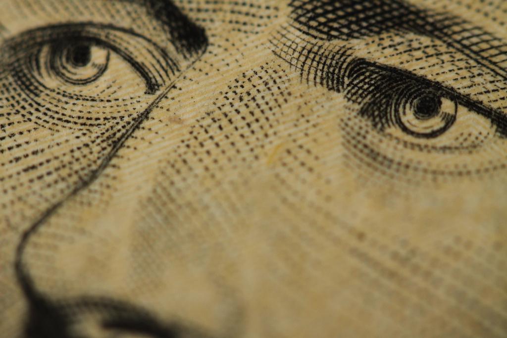Close-up ten-dollar bill. Flickr/Creative Commons/Eli Christman