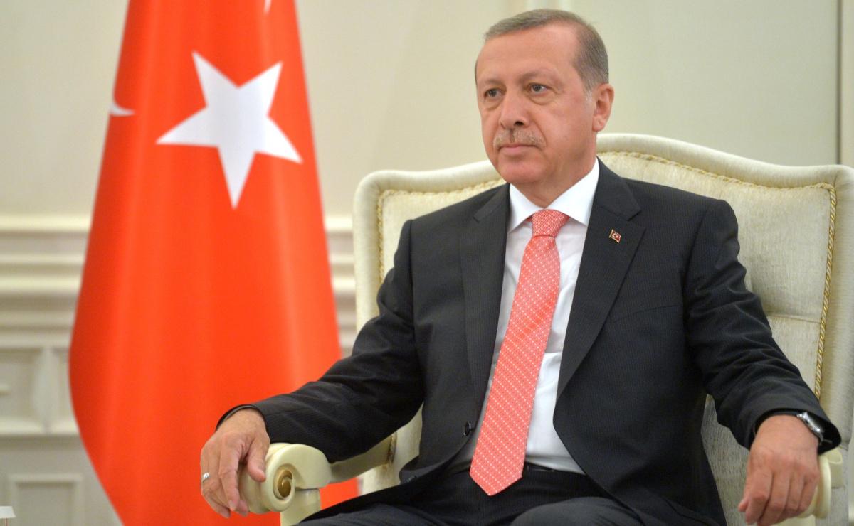 President of Turkey Recep Tayyip Erdogan. Kremlin.ru