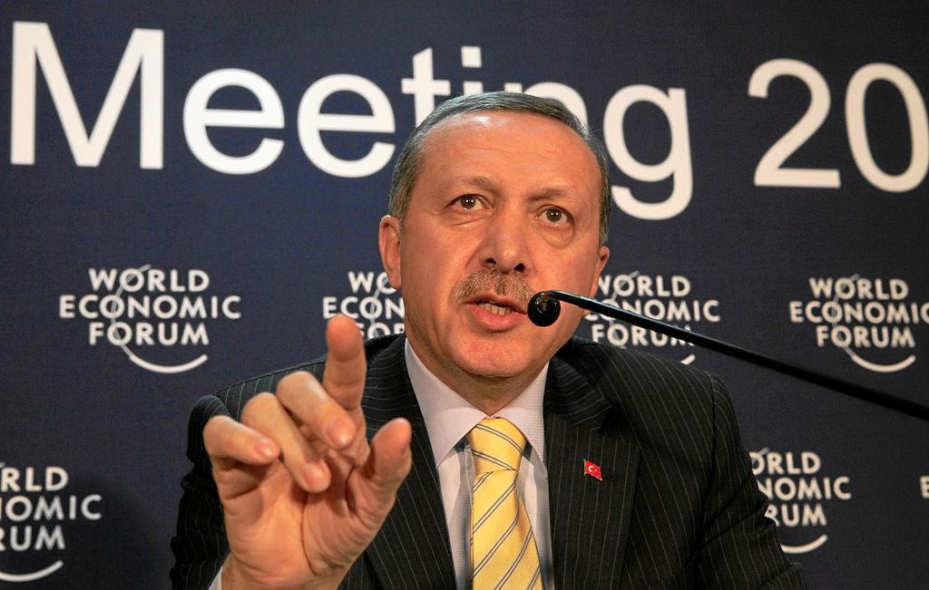 Recep Tayyip Erdogan, Prime Minister of Turkey. Wikimedia Commons/World Economic Forum, swiss-image.ch/Andy Mettler