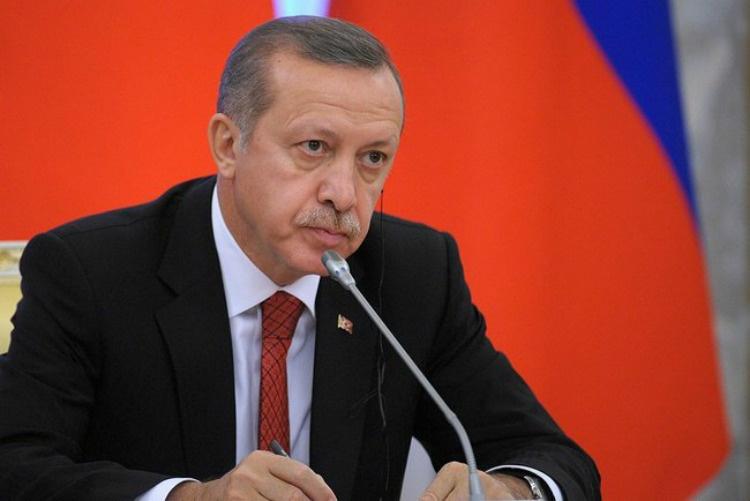 Image: Recep Tayyip Erdogan at a meeting with Putin in 2013. Kremlin photo.