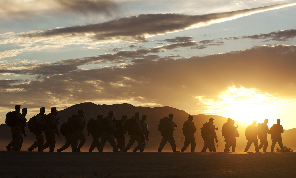 Marines conduct pre-deployment training exercise. Flickr/DVIDSHUB