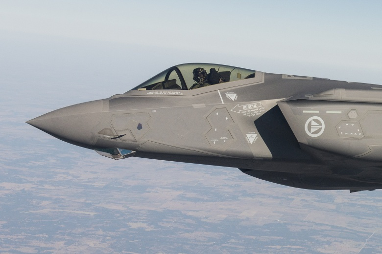 Images from a test flight of Norway's first F-35. Flickr/Norwegian Ministry of Defense