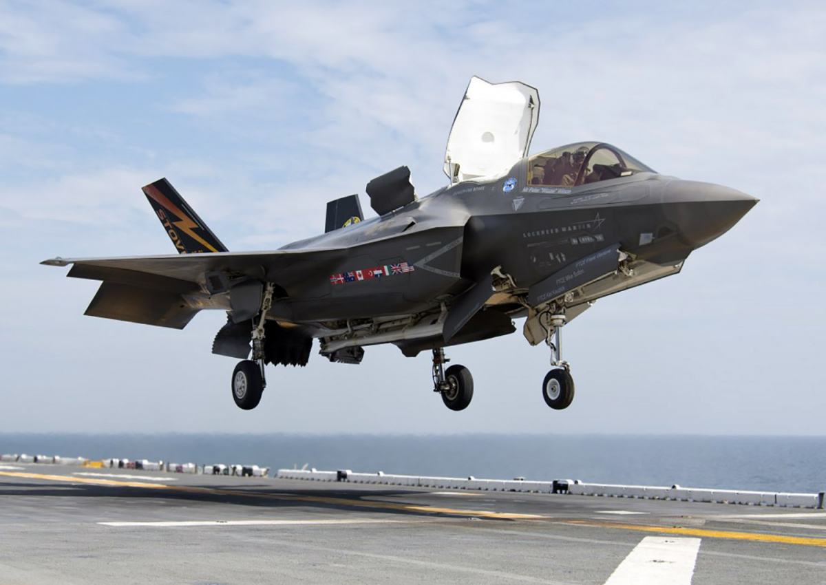 F-35B Stealth Fighter Makes Historic Deployment Aboard US Assault Ship