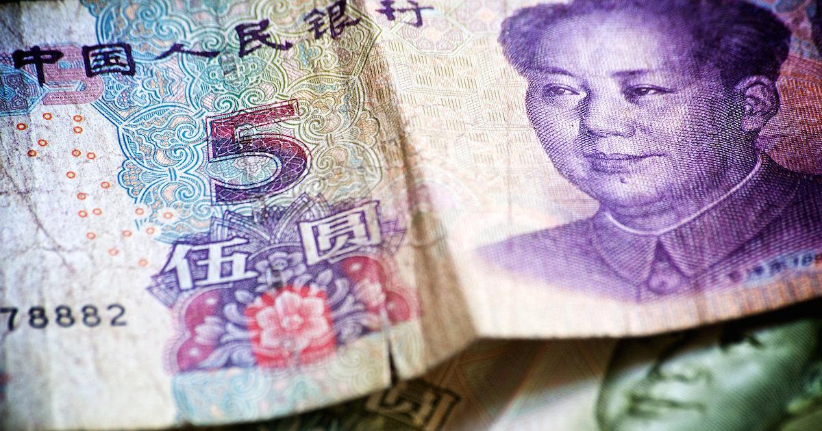 Five-yuan note. Flickr/David Steadman