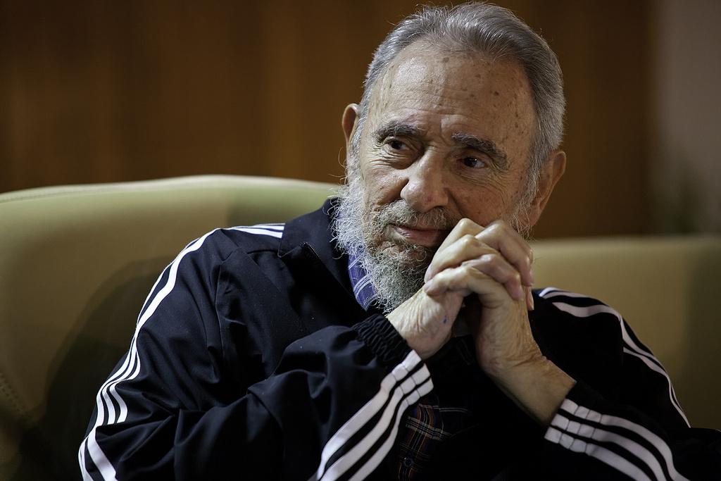 Fidel Castro in 2011. Flickr/Creative Commons/Roberto Chile