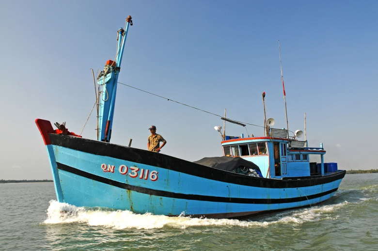 A Vietnamese fishing boat. Flickr/Dennis Jarvis