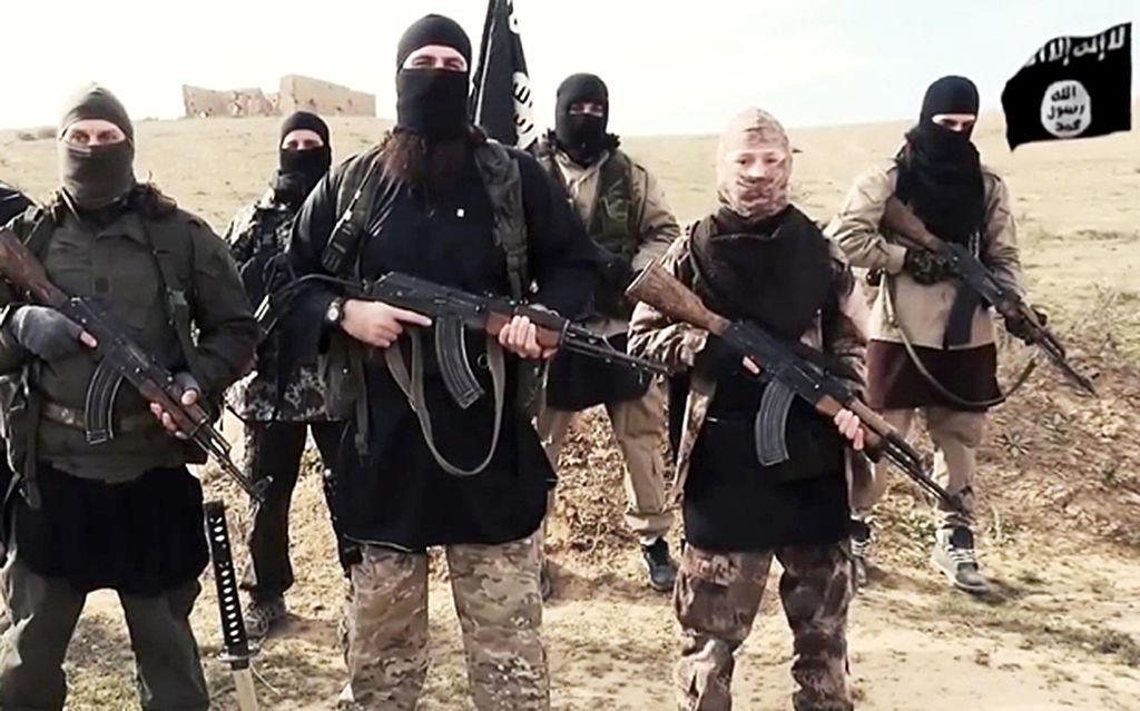 Islamic State militants. Wikimedia Commons/Creative Commons/@Dean11122