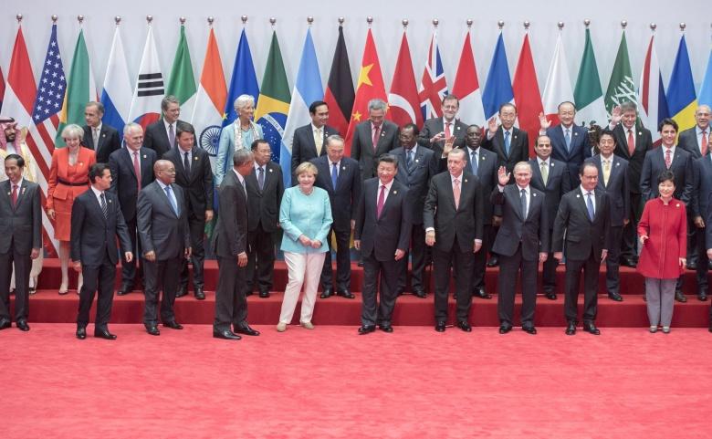 G-20 Summit participants. Kremlin.ru/RIA Novosti