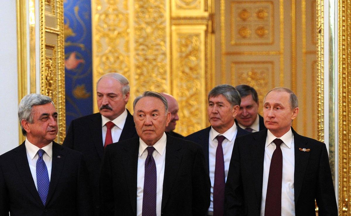 Leaders of the Eurasian Economic Council. Kremlin.ru