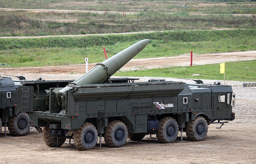 Iskander-M SRBM system. Wikimedia Commons/Creative Commons/Vitaly V. Kuzmin