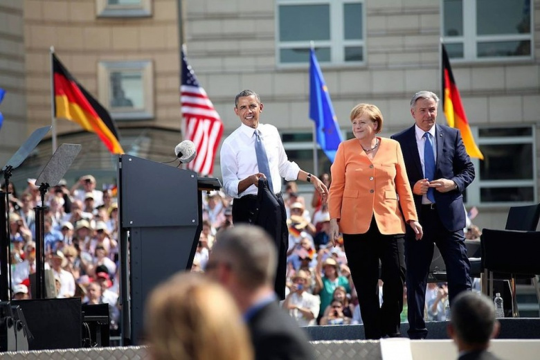 Barack Obama and Angela Merkel in June 2013. Wikimedia Commons/Public domain