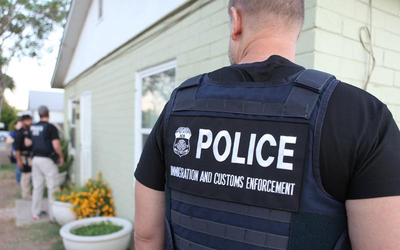 2011 ICE arrest. Wikimedia Commons/Public domain