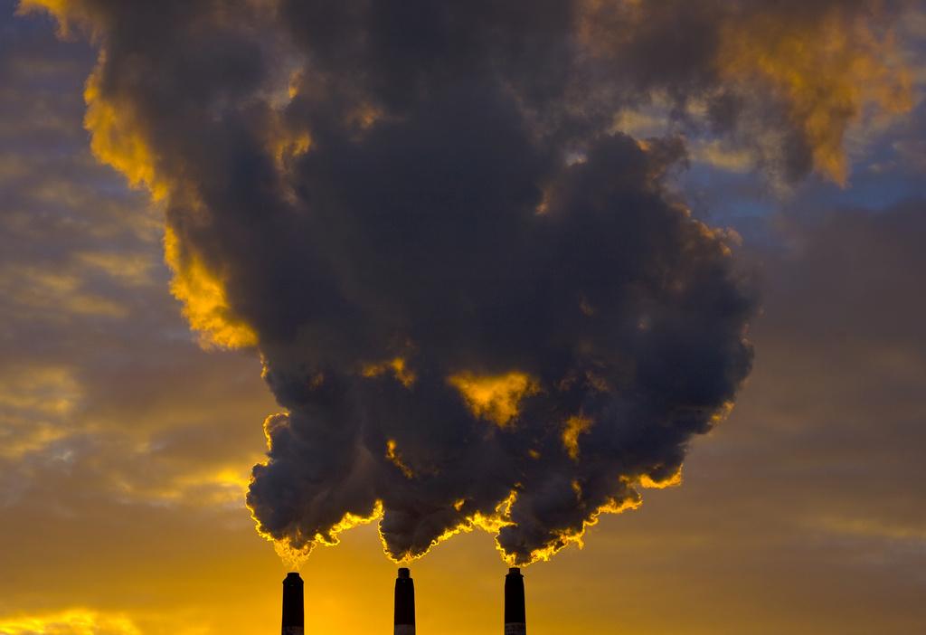 Smokestacks in Dartmouth, Nova Scotia. Flickr/Creative Commons/Owen Byrne