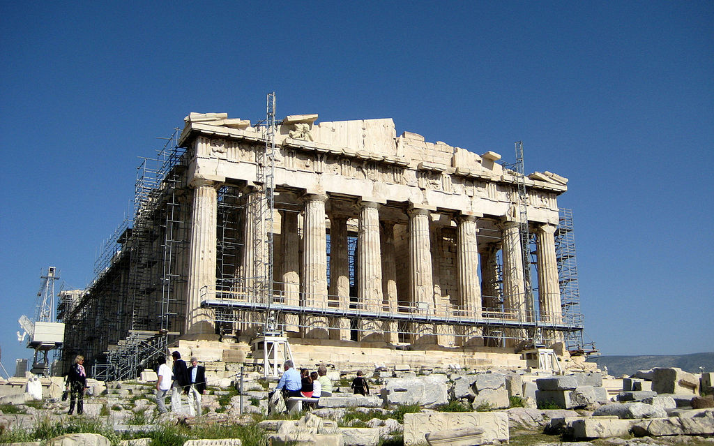 Acropolis, Athens, Greece. Wikimedia Commons/Creative Commons/@RyansWorld