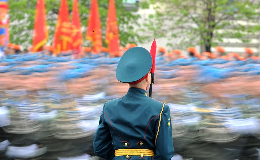 Military parade on Red Square. RIA Novosti/Kremlin.ru