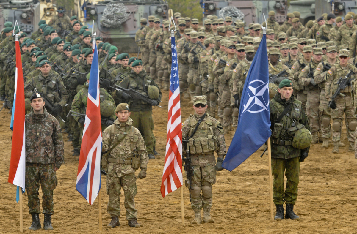 Closing ceremony for Iron Sword 2014 in Pabrade, Lithuania. Flickr/U.S. Army Europe