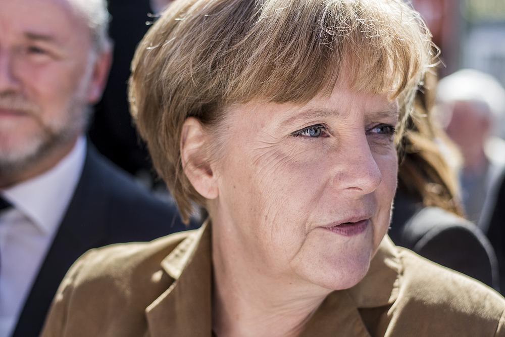 Angela Merkel in 2014. Wikimedia Commons/Creative Commons/@FNDE