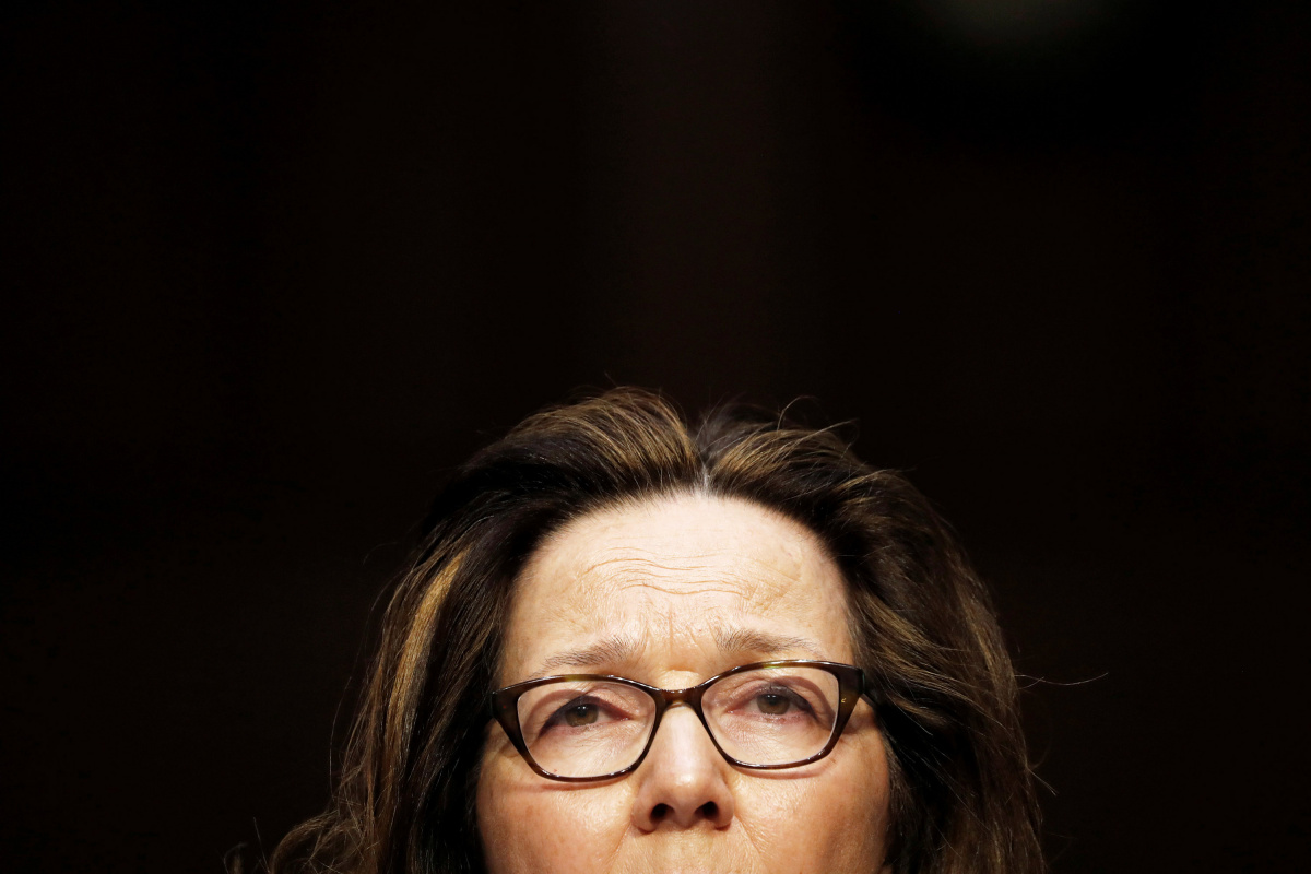 CIA director nominee Haspel arrives to testify at Senate Intelligence Committee confirmation hearing in Washington