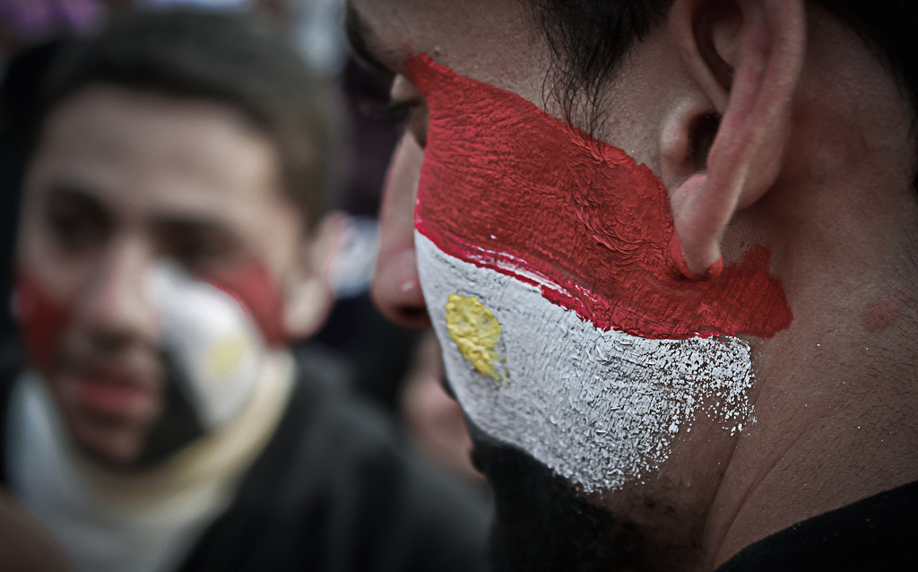 Protesters in Tahrir Square, 2011. Flickr/Creative Commons/Ahmad Hammoud