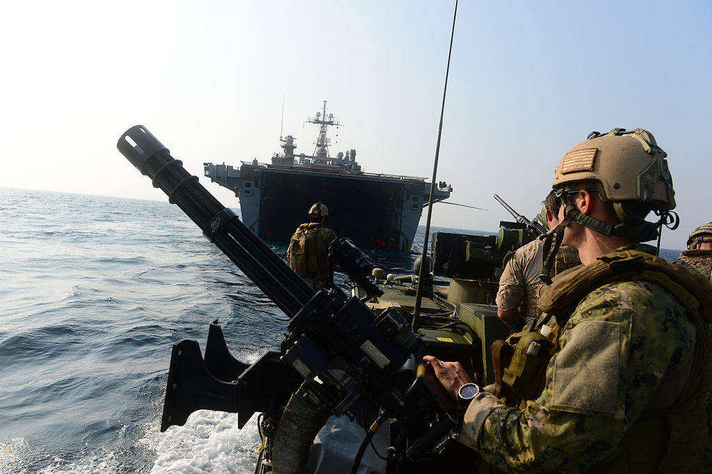 U.S. Navy sailors patrol the Arabian Sea. Flickr/U.S. Navy