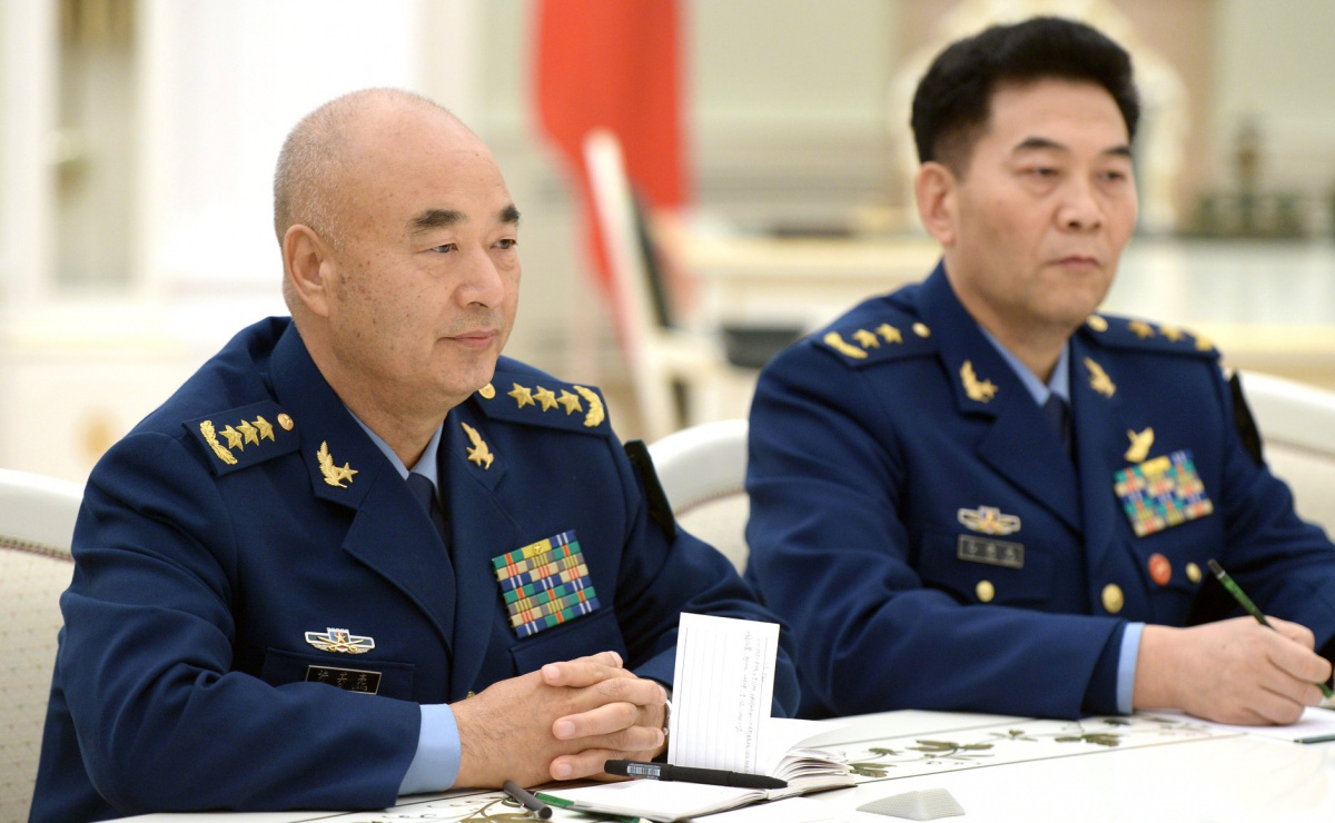 Vice Chairman of China's Central Military Commission Xu Qiliang. Kremlin.ru