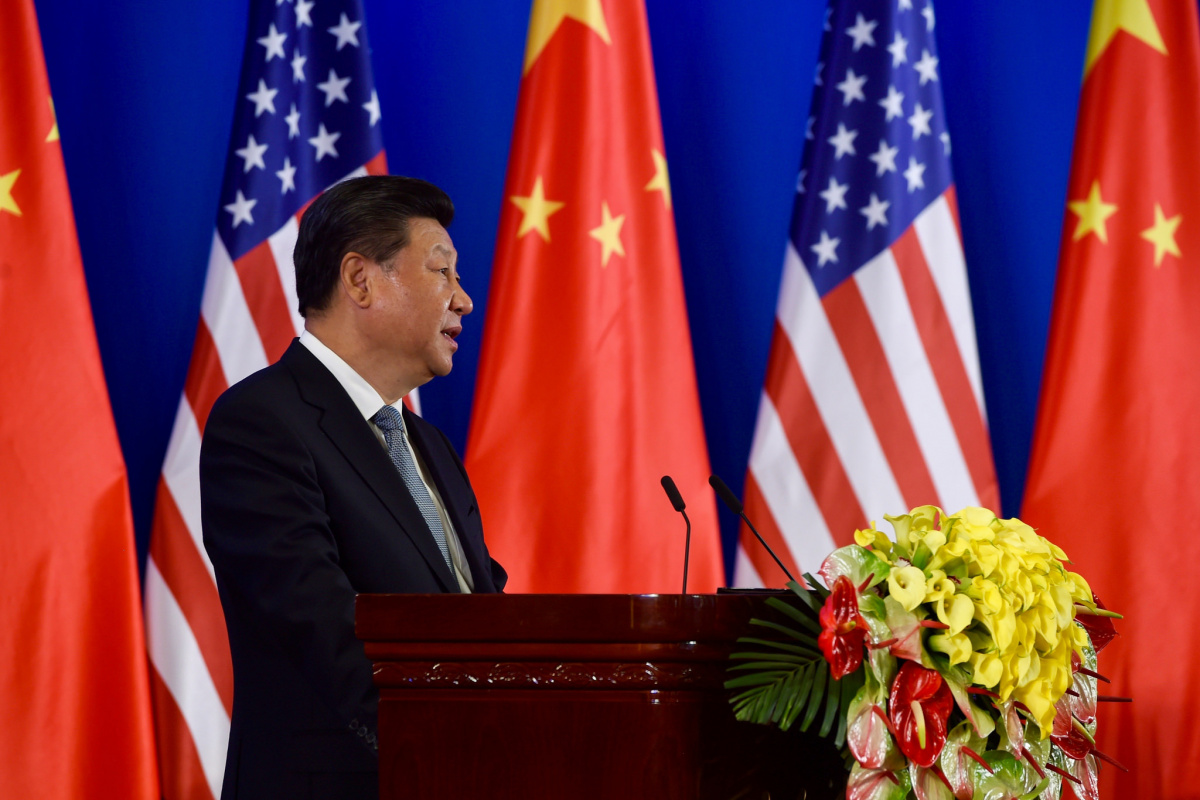 Xi Jinping at 2016's U.S.-China Strategic Dialogue in Beijing. Flickr/U.S. Department of State