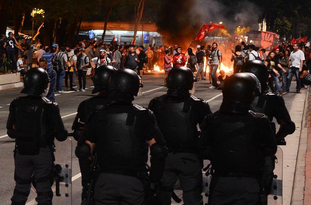 Protest in São Paulo, August 2016. Wikimedia Commons/Creative Commons/Rovena Rosa/Agência Brasil