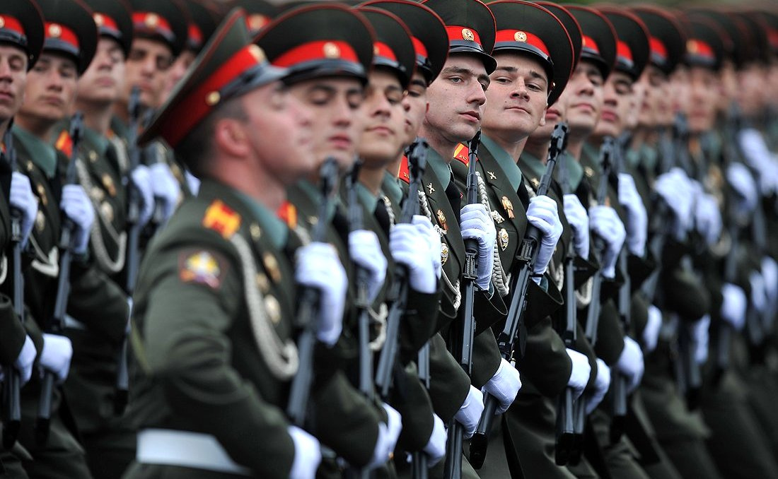 Military parade on Red Square. Kremlin.ru