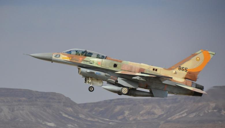 An Israeli F-16I. Flickr/Israeli Air Force